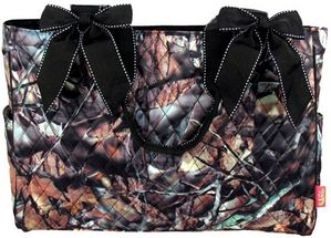 $15.50 Quilted BNB Natural Camoâ?¢ Diaper Bag with Black Trim (Shown ... : quilted camo diaper bag - Adamdwight.com