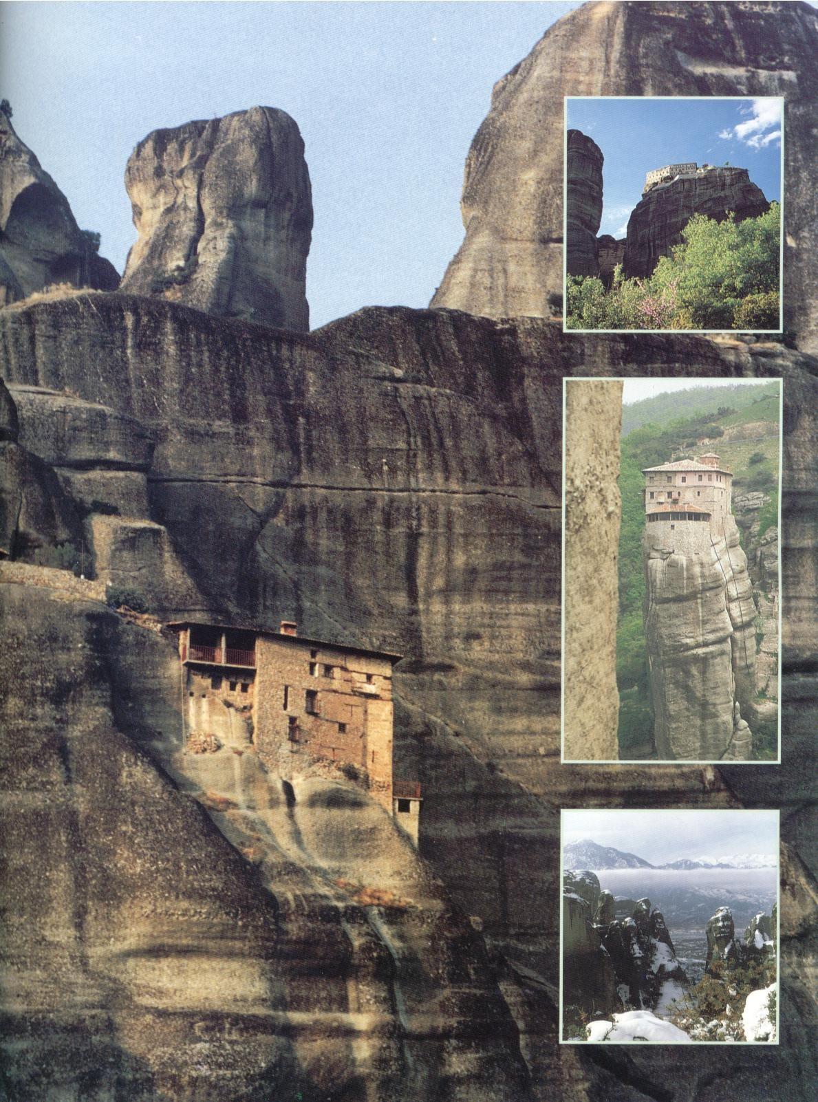 Greek Monasteries