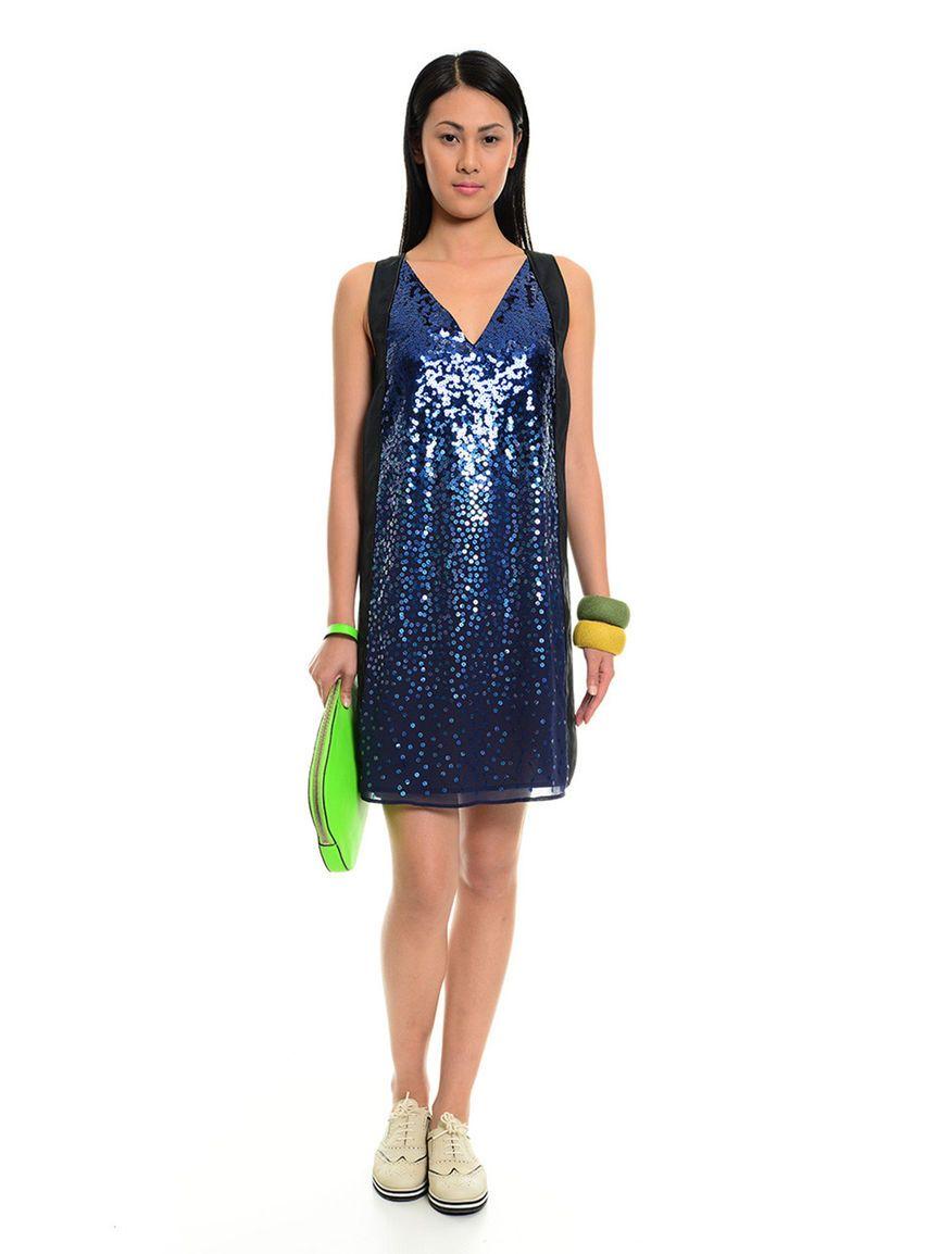 online retailer e7676 26c26 Abito da cocktail in tessuto, blu nero - NARCISO Diffusione ...