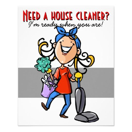 Cleaning Business Clip Art | Free Printable House Cleaning Flyers