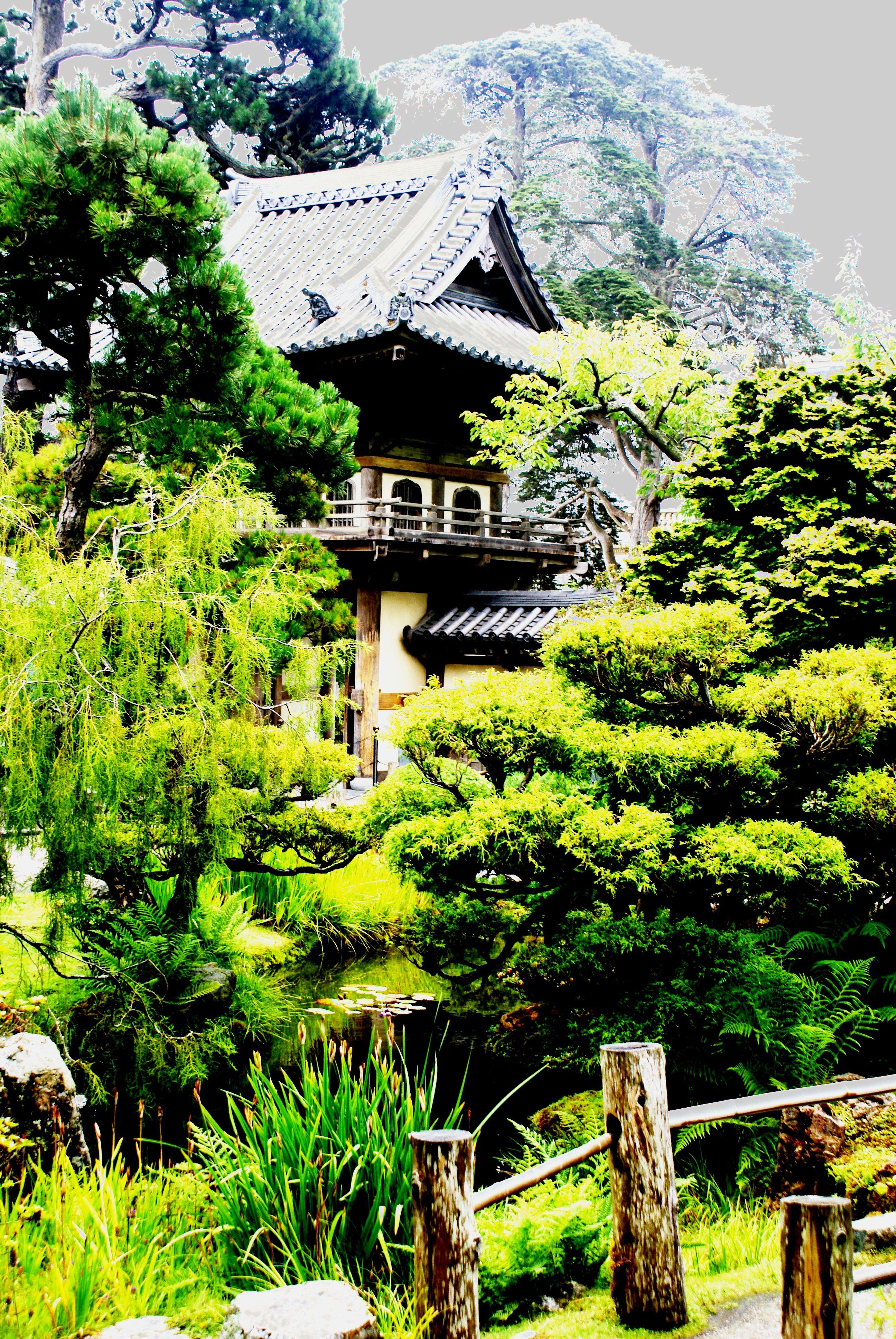 Japanese Tea Garden, San Francisco Tea garden, House