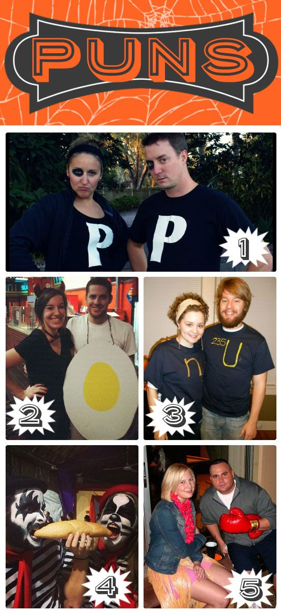 Simple Halloween Costumes for Couples Halloween costume