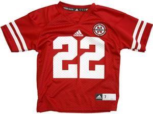size 40 97987 d5f56 Adidas Kids Replica Rex Burkhead Nebraska Huskers Jersey ...