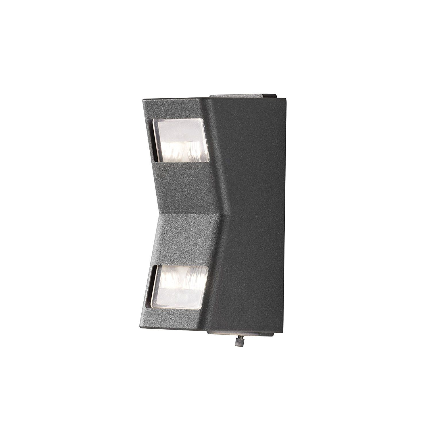 Konstsmide potenza easy fit wall light up down anthracite