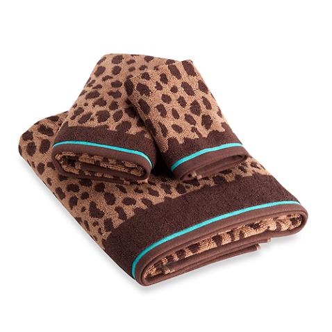 Dkny Amazon Leopard Towels 100 Cotton Towel Cotton Amazon