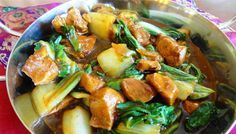 Surinaams eten – Paksoi Kip (exclusief kipgerecht met paksoi op saus)