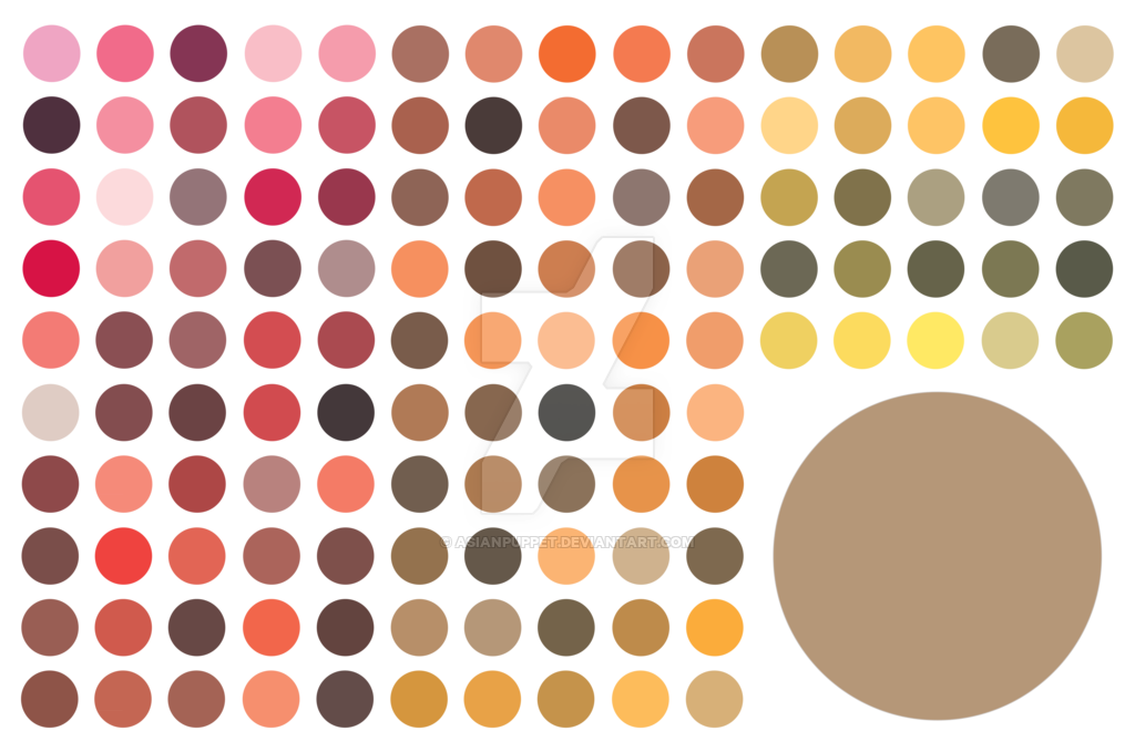 001 125 Traditional Japanese Color Palette By Asianpuppet Color
