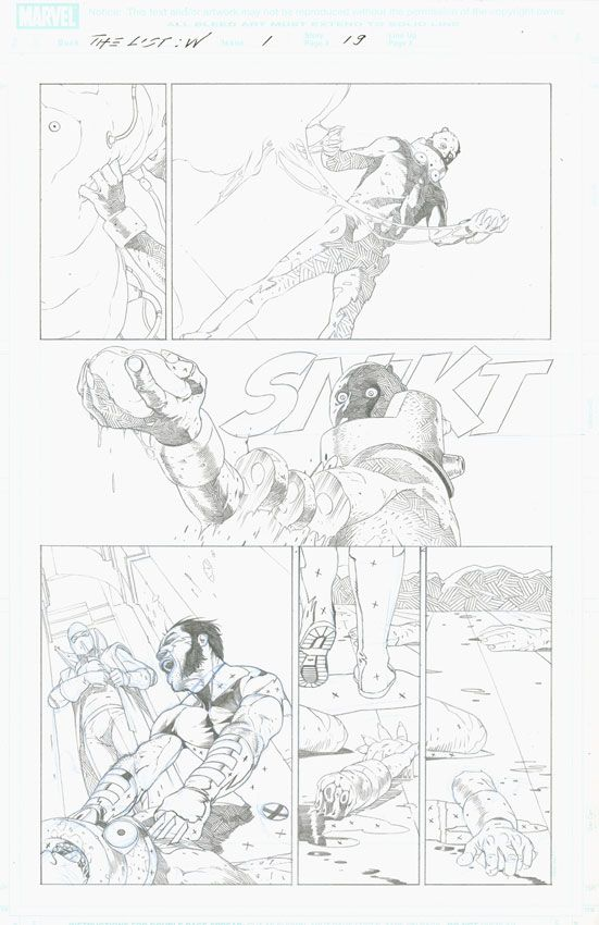 Esad Ribic - Wolverine IV