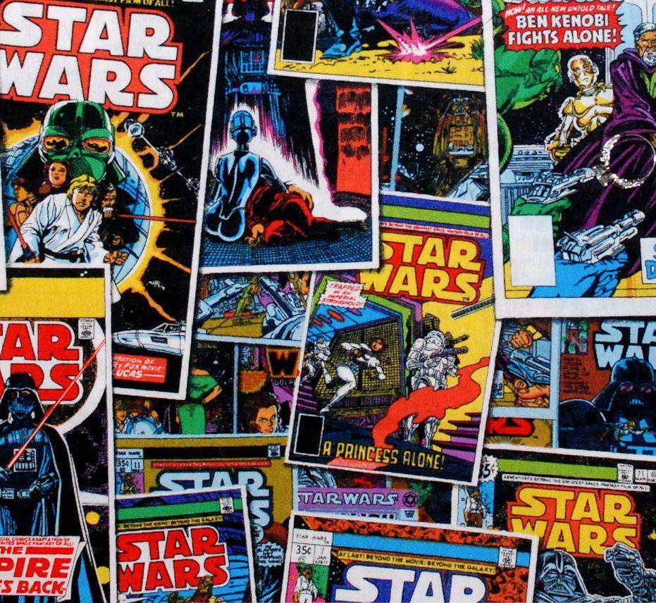 Pattern Buscar Con Google Star Wars Fabric Star Wars Comics Star Wars Comic Books