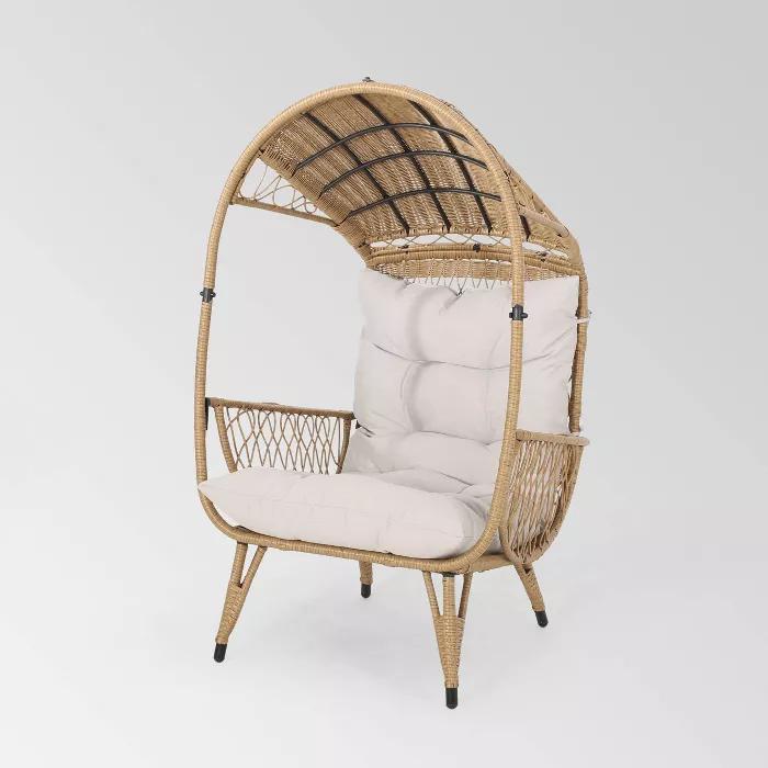 Malia Wicker Standing Basket Chair