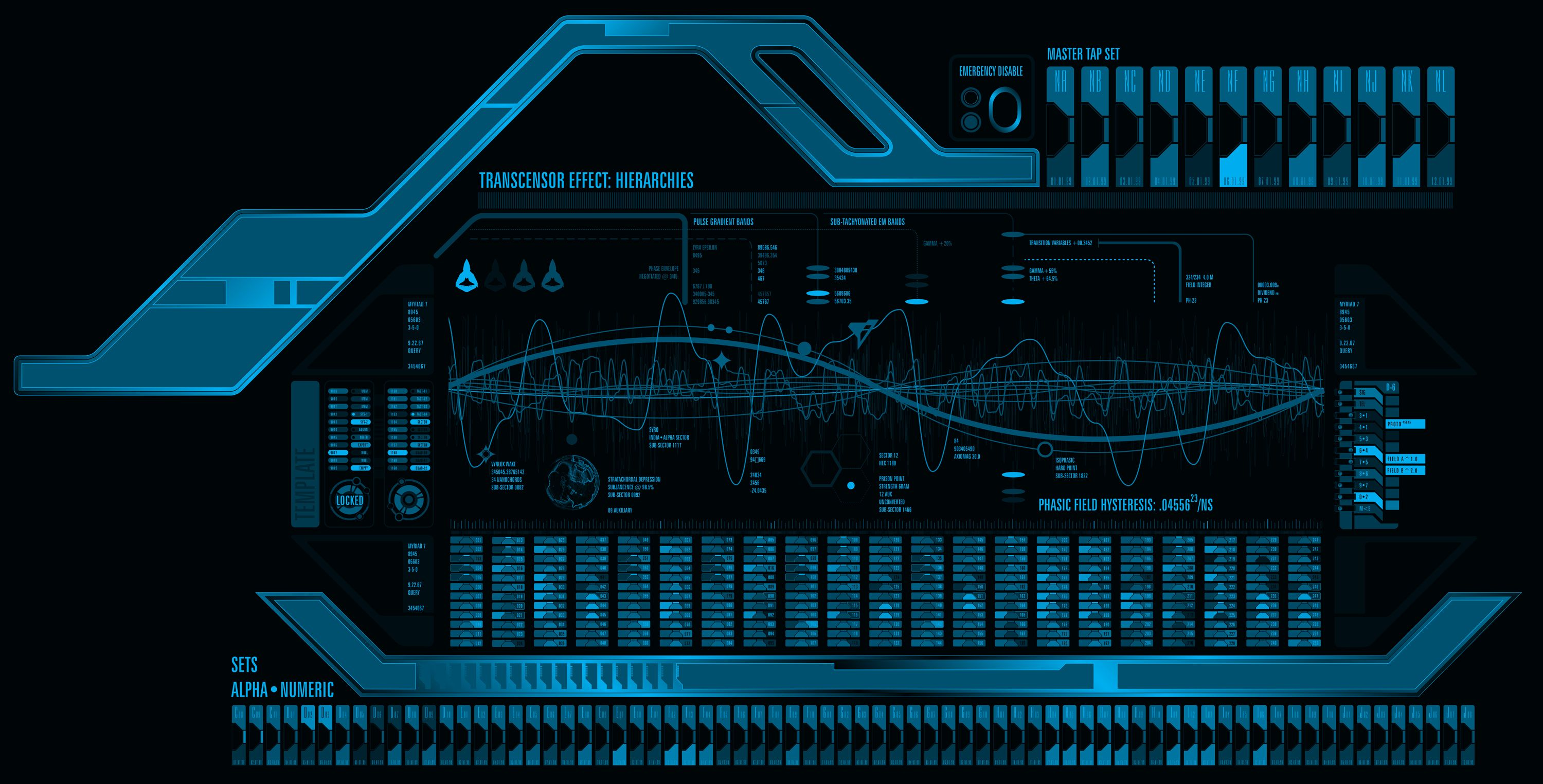 Sci-Fi Interface elements 3D Model | CGTrader.com