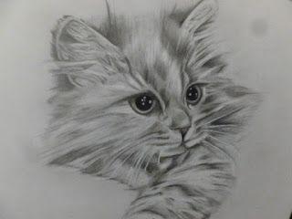 lavoretti creativi dall'uncinetto alla pittura: gatto a matita
