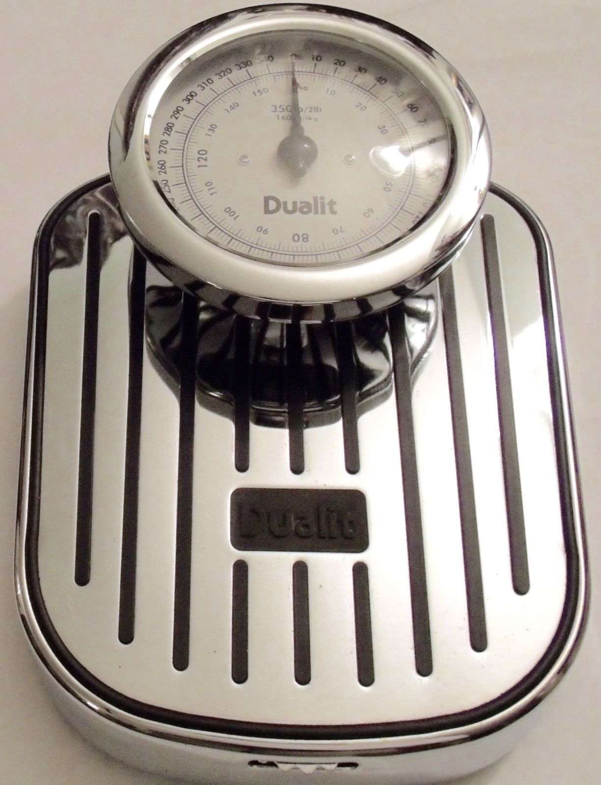 Dualit Bathroom Scale Chrome Black Retro 300  lbs Body Weight Management. Dualit Bathroom Scale Chrome Black Retro 300  lbs Body Weight
