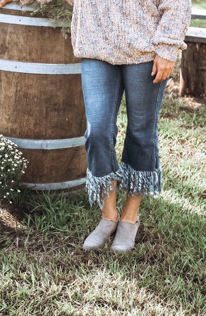 cd0f189d2 Betsy Frayed Hem Jeans | new at beaufort proper | Frayed hem jeans ...