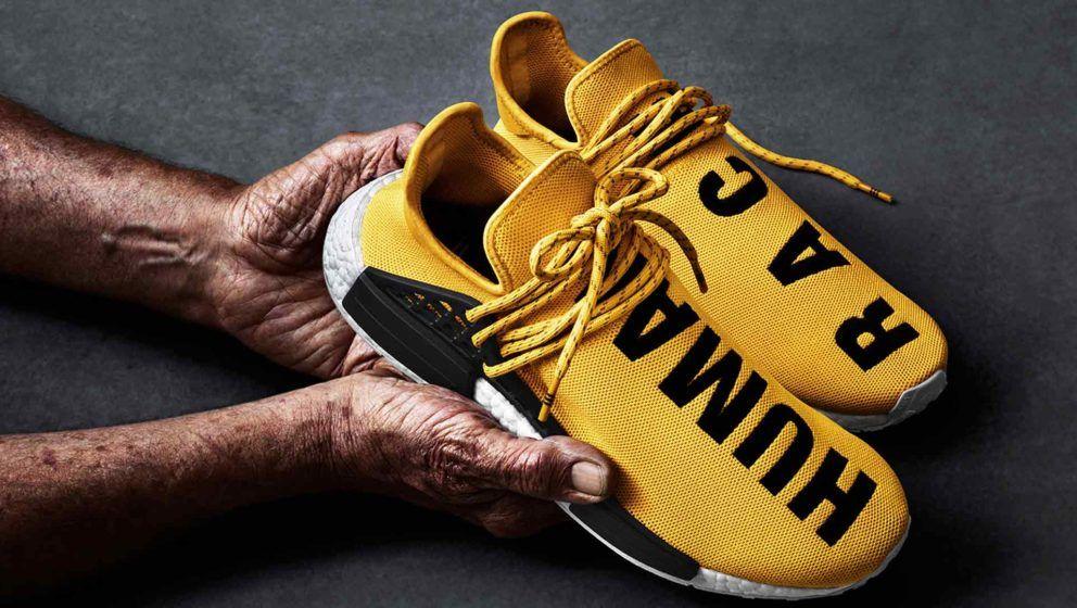 pharrell williams x adidas sport initié magazin nmd race humaine: