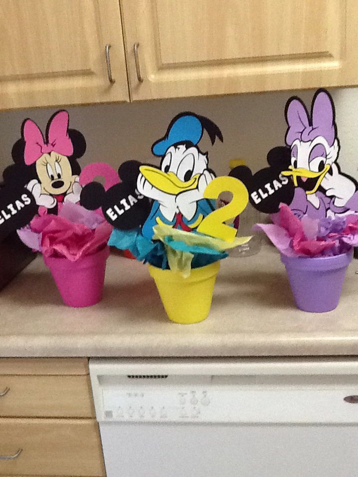 Mickey Mouse Clubhouse Party Ideas Homemade DIYMickey Mouse