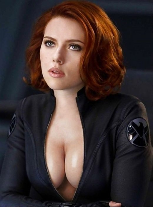 black widow Naked