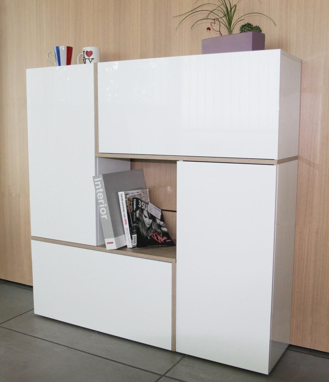 meuble de rangement design 4 portes