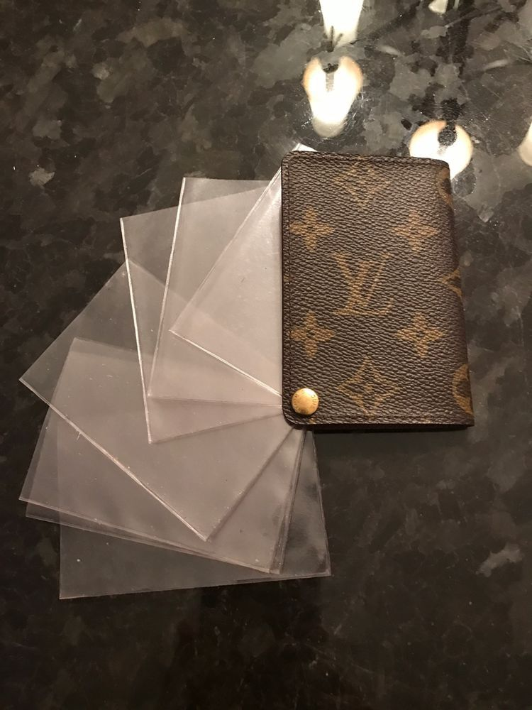 Louis Vuitton Business Card/Credit card holder NO RESERVE ...