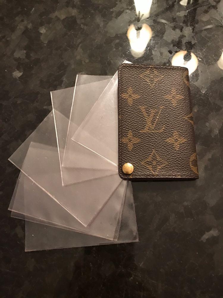 Louis Vuitton Business Card/Credit card holder NO RESERVE ...