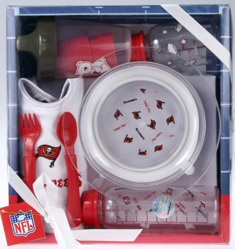 Tampa Bay Buccaneers NFL Football Newborn Baby Necessities Gift Set by NFL 72bfb3e98