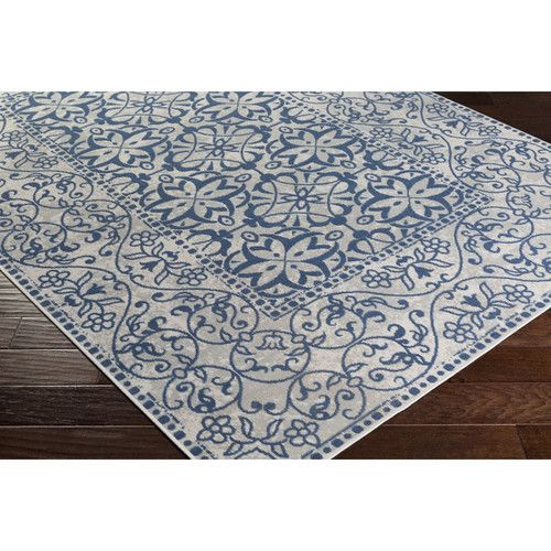 Found It At Wayfair Septfontaines Beige Navy Area Rug