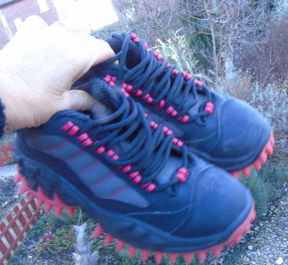 8fed605f3 Rare X18 Reykjavik SPIKED SNEAKERS Unisex Size 38 / UK 6 Rave Shoes ...