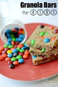 Easy Homemade Granola Bars (Kids in the Kitchen)