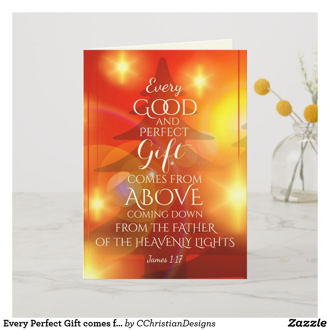 Every Perfect Gift comes from Above, Christmas Holiday