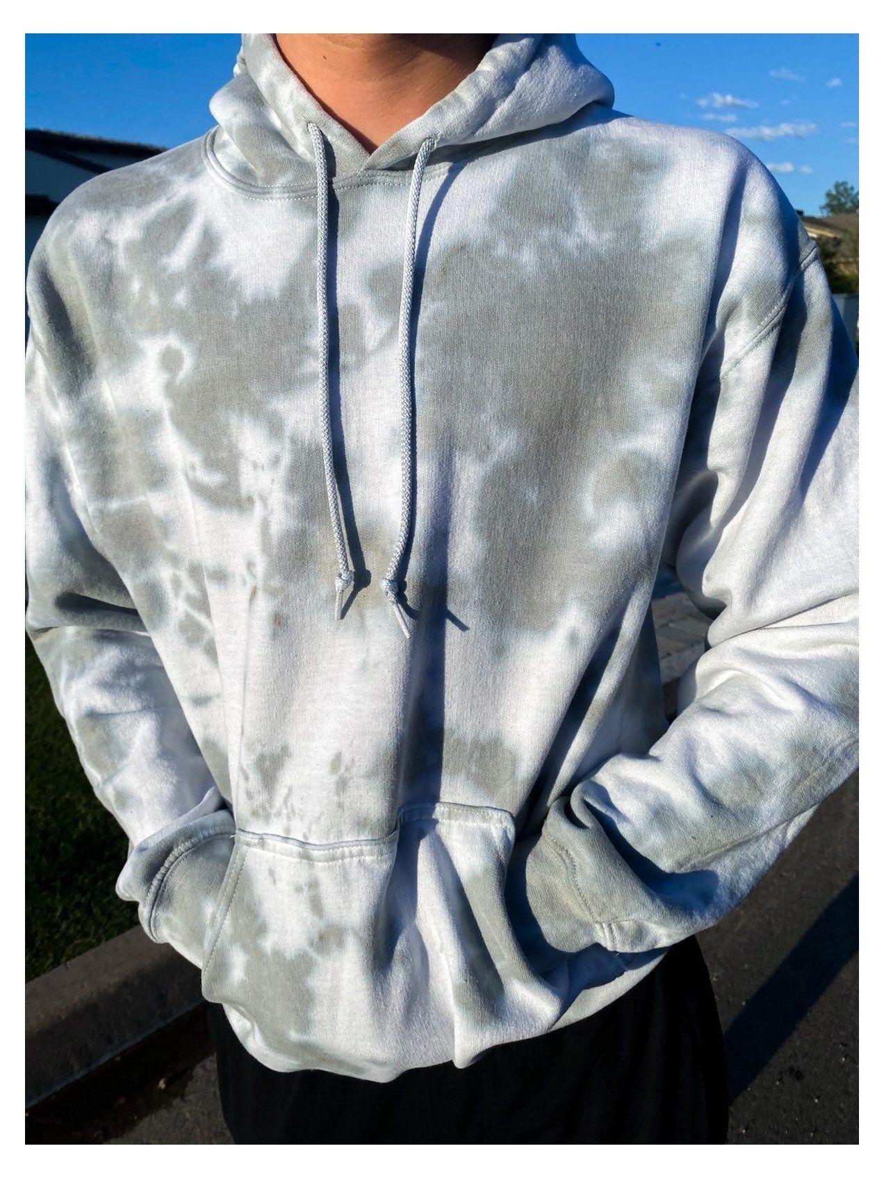 Tie Dye Hoodie Grey Tie Dye Hoodie Custom Grey Tie Dye Hoodie Sooo Cute Size Medium In Men S Tie Dye Outfits Tie Dye Hoodie Diy Tie Dye Hoodie [ 1696 x 1272 Pixel ]