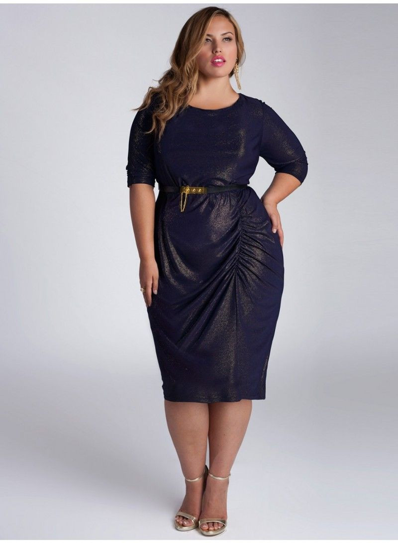 Plus size cocktail dresses with sleeves stunning plus size