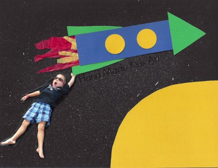 Blast Off Into Outer Space with an Easy Art Project - Kids STEAM Lab