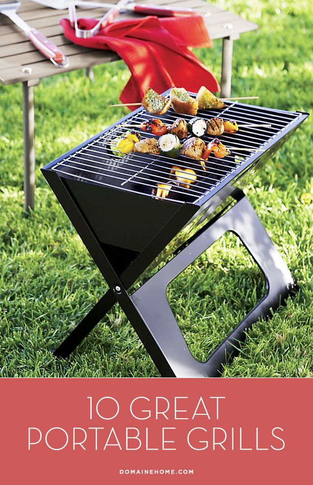 10 Great Portable Grills For Barbeque Season Beach Bbq Apartment