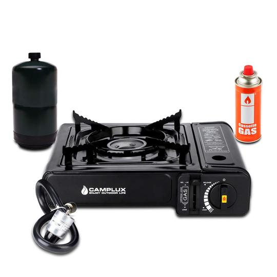 Portable Camping Gas Cooker Stove Single Burner Carry Bag Butane BBQ Outdoor New