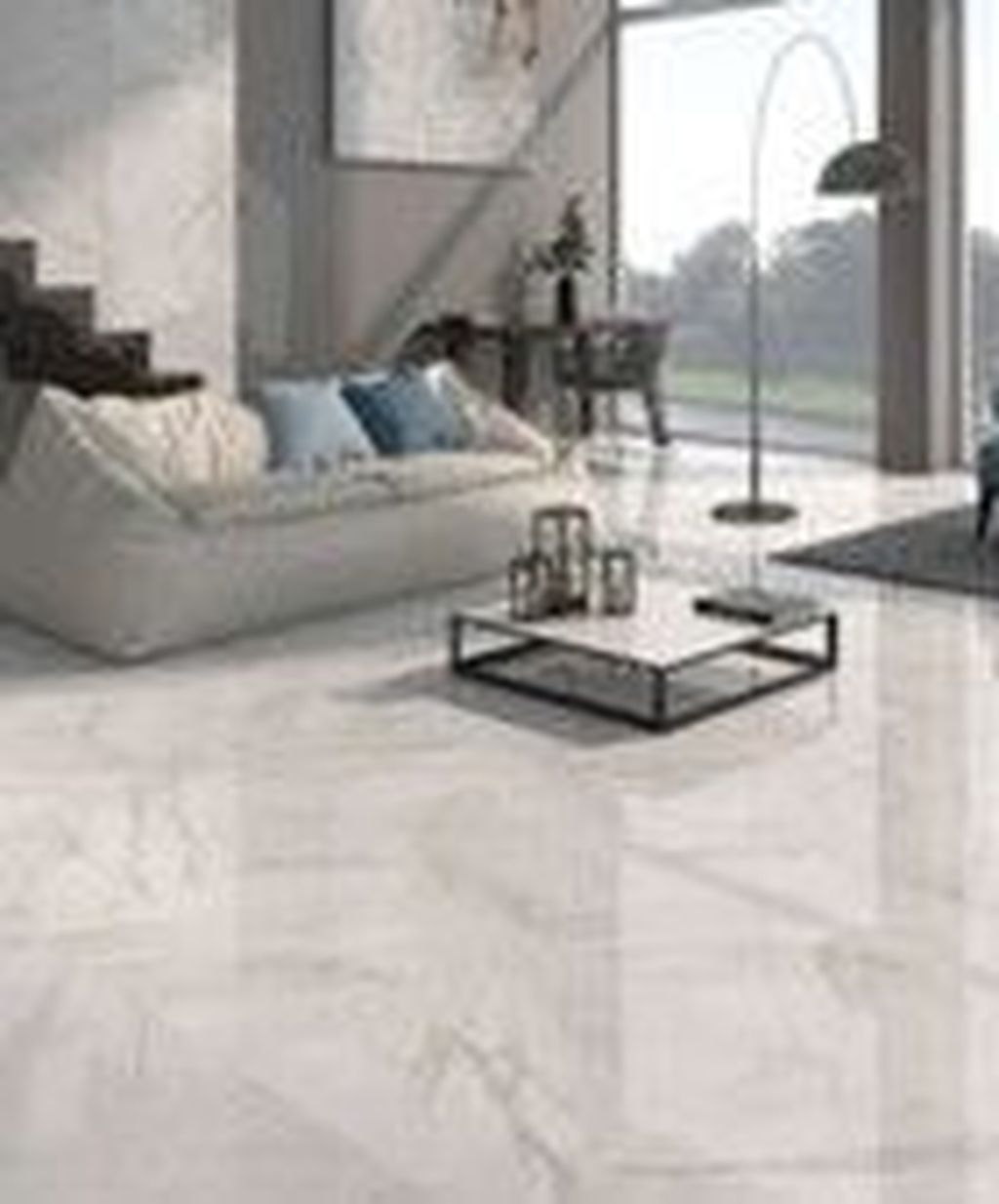 31 Chic Living Room Design Ideas With Floor Granite Tile To Have