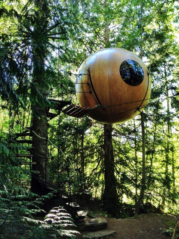 Free Spirit Spheres Vancouver Island Bc
