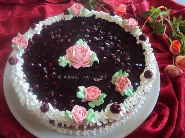 Najlepša torta s višnjama