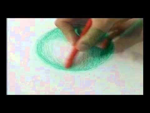 Técnica de pintura com Lápis de Cera