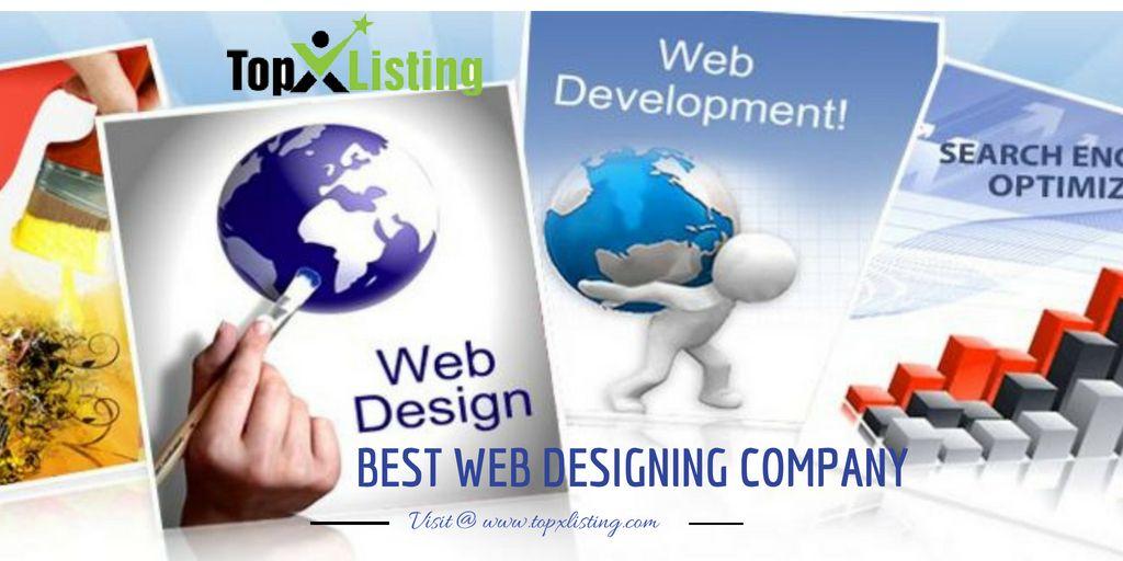 Topxlisting Find The Best Web Designing Companies With Us Website Design Web Design App Development