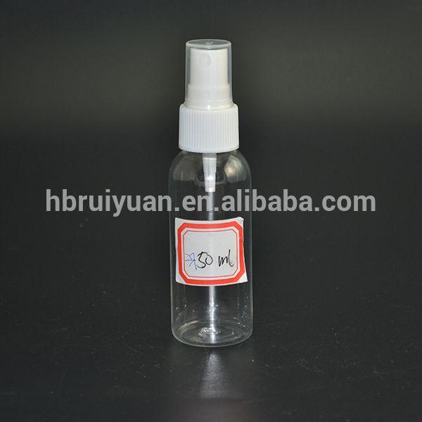 Empty 30ml 1 Oz Clear Plastic Fine Mist Sprayer Spray Bottle With White Tops Find Complete Details A Fine Mist Sprayer Plastic Spray Bottle Perfume Atomizer