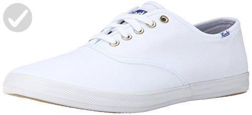 61f869aad78dd Keds Men's Champion Original Canvas Sneaker, White, 8.5 M US - Mens ...