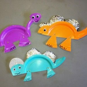 paper plate dinosaur craft idea (12) More & paper plate dinosaur craft idea (12) u2026 | Pinteresu2026
