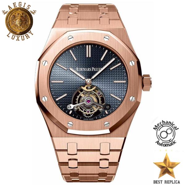 Audemars Piguet Royal Oak Tourbillon Ultra Thin Gold Black Mechanical Automatic 3130 Watchporn Wristwatch Audemars Piguet Piguet Audemars Piguet Royal Oak
