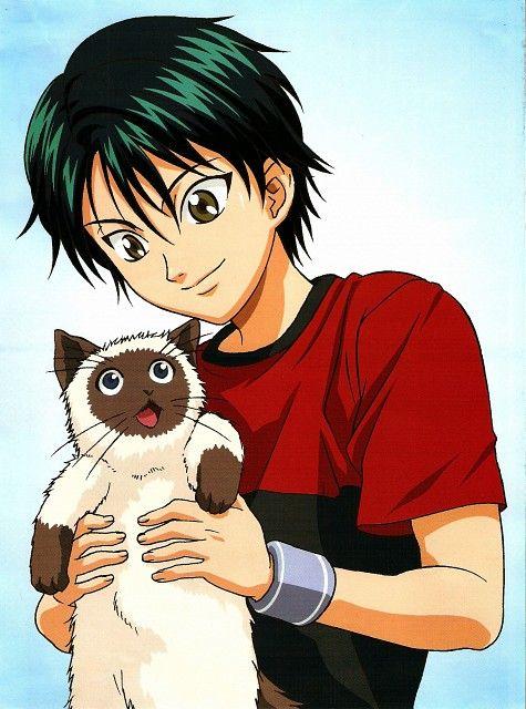 Ryoma Echizen Karupin Prince Of Tennis Anime The Prince Of Tennis Anime Prince