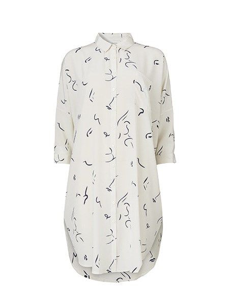 Kokoon Oversize Shirtdress Faceprint