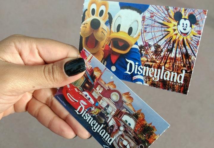 Ingressos Disneyland Cali