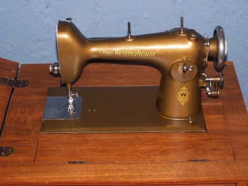 Free-Westinghouse Type-E Sewing Machine with table Antique ...