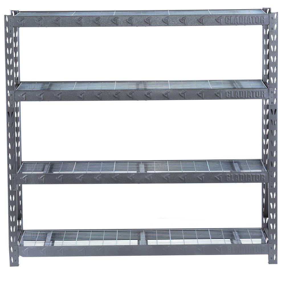 Gladiator 72 In H X 77 In W X 24 In D 4 Shelf Welded Steel