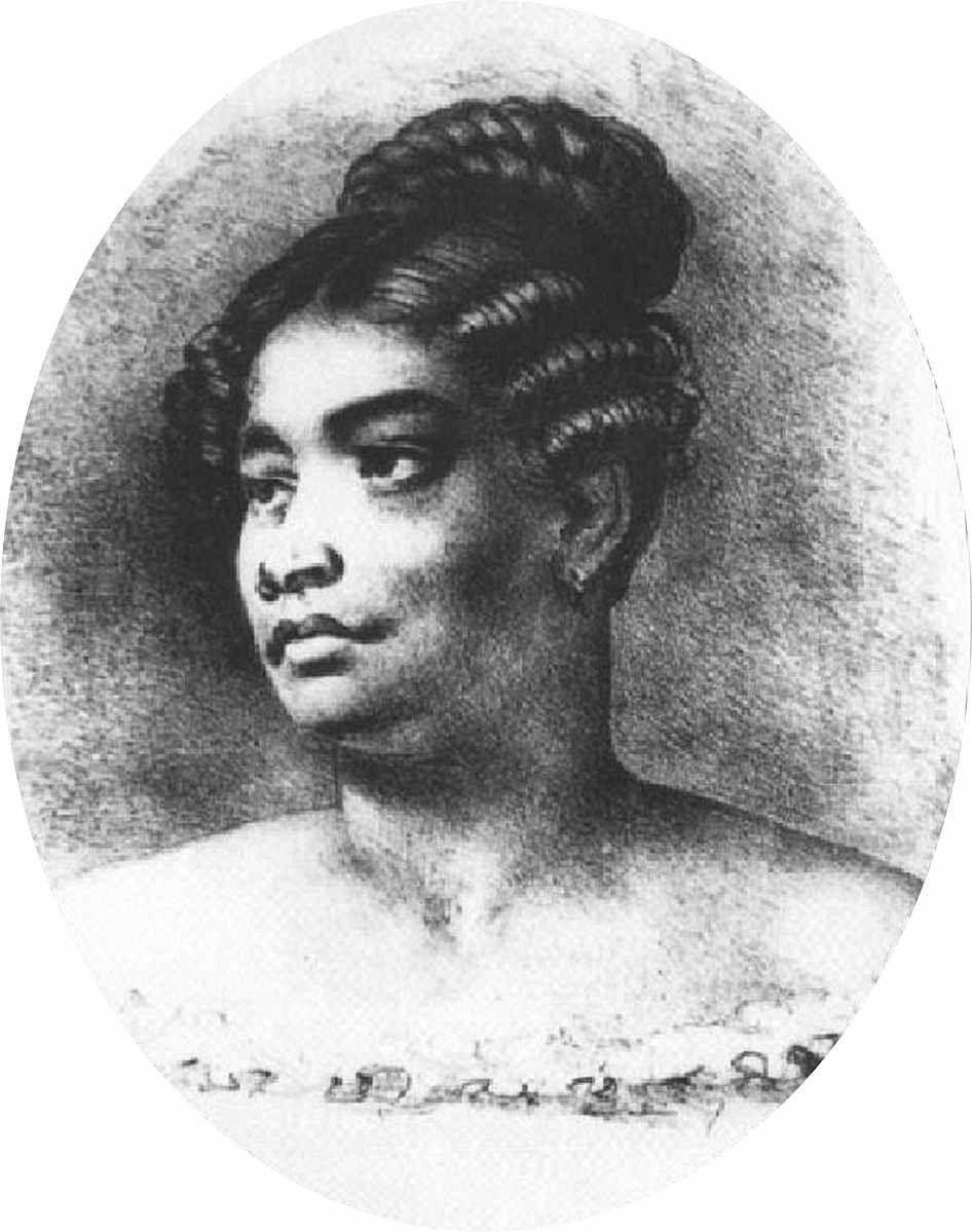 """Kamāmalu Kalani-Kuaʻana-o-Kamehamalu-Kekūāiwa-o-kalani-Kealiʻi-Hoʻopili-a-Walu (1802–1824) was Queen consort of the Kingdom of Hawaiʻi as the wife of King Kamehameha II. Kamāmalu was short for Kamehamalu or Kamehamehamalu meaning """"the Shade of the Lonely One"""", honoring her father, """"the Lonely One""""."""