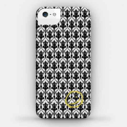 Sherlock 221b baker smiley flip pu leather cover case for iPhone 7